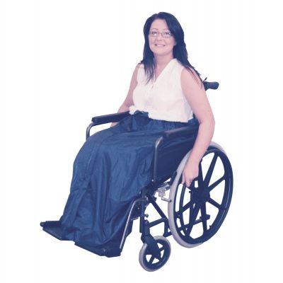 Waterproof Wheelchair Cozy with fleece lining
