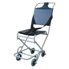 Ambulance evacuation chair with 4 castors