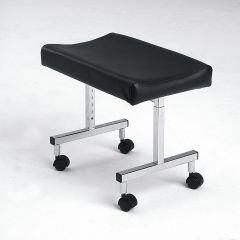Adjustable Height leg rest with Castors