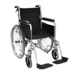 Silver Self propel wheelchair ECSP04