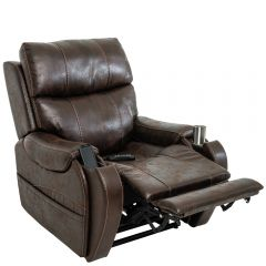 Atlas plus riser recliner in Badlands Walnut