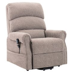 Henley Single motor riser recliner chair heat and massage