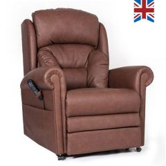 Cullingworth Riser and Recliner Chair In Crib 5 MRSA Infection Resistant Faux Leather