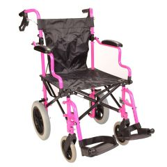 Deluxe Pink Wheelchair in a Bag