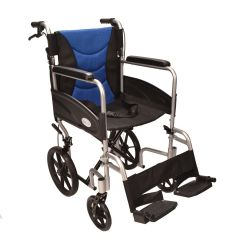 Ultra Lightweight aluminium folding transit wheelchair ECTR07