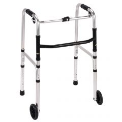 Folding Walking/Zimmer Frame with Wheels