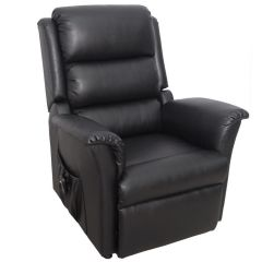 Nevada PVC Riser Recliner Chair Dual Motor