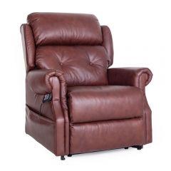 Oakworth power headrest Dual riser recliner chair