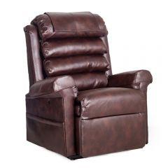 Pride 670 Walnut Dual Motor Rise Recline Chair - 27 stone user weight
