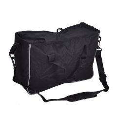 Replacement zip bag for rollator / walker with X shape frame