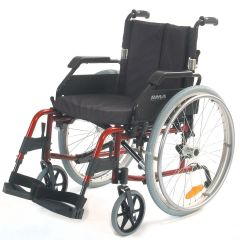 Roma 1500 Wheelchair Lightweight Self Propel - Red