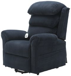 Fabric Dual Motor Riser Recliner Chair with waterfall backrest - 3 Colours