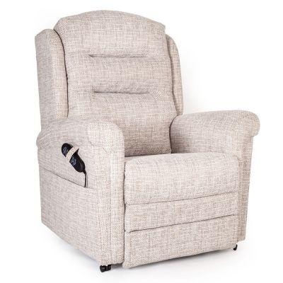Bronte powered head and lumbar Riser Recliner Chair