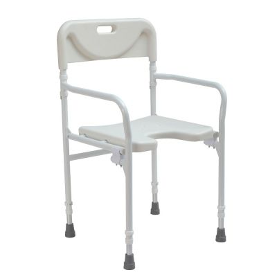Folding shower seat / wetroom chair
