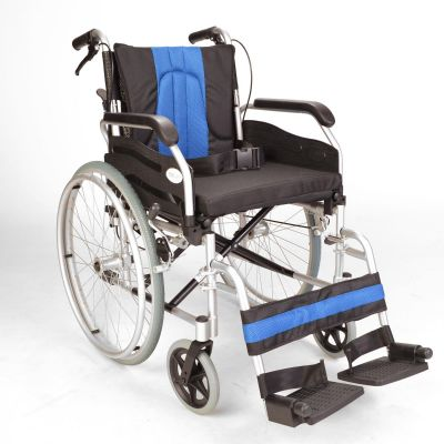 Self propel narrow wheelchair with handbrakes ECSP01-16
