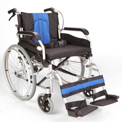 "Self propel extra wide wheelchair with 20"" seat"