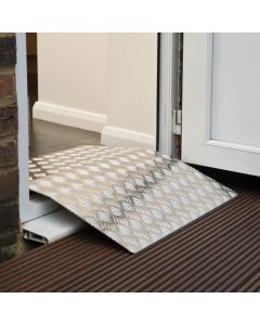 Aluminium Threshold Ramp - over Door Frame