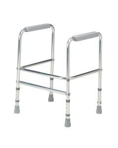 Aluminium Height Adjustable Toilet Surround
