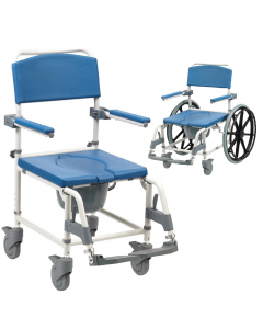 Aston Mobile Shower Commode Chair