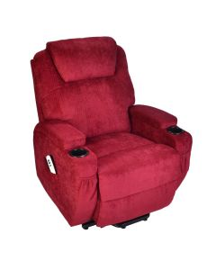 Burlington Fabric Dual Motor Riser Recliner Chair