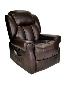 Hainworth Electric Recliner Chair with Heat and Massage