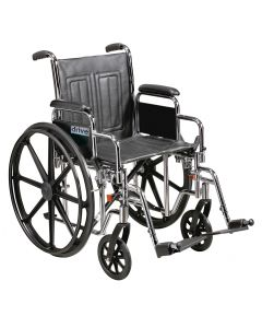 Heavy Duty Bariatric Sentra EC Self Propel Wheelchair