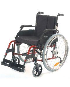 Roma 1500 Wheelchair Lightweight Self Propel - Red
