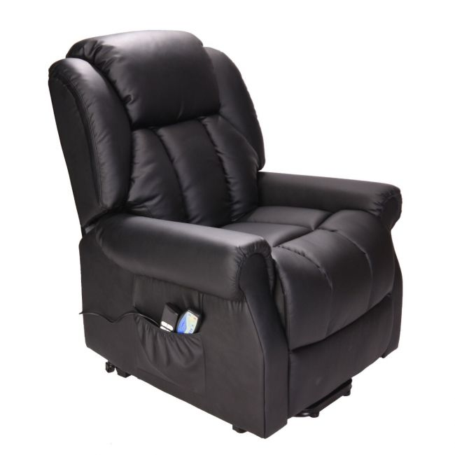 Hainworth Riser Recliner Chair with Heat and Massage