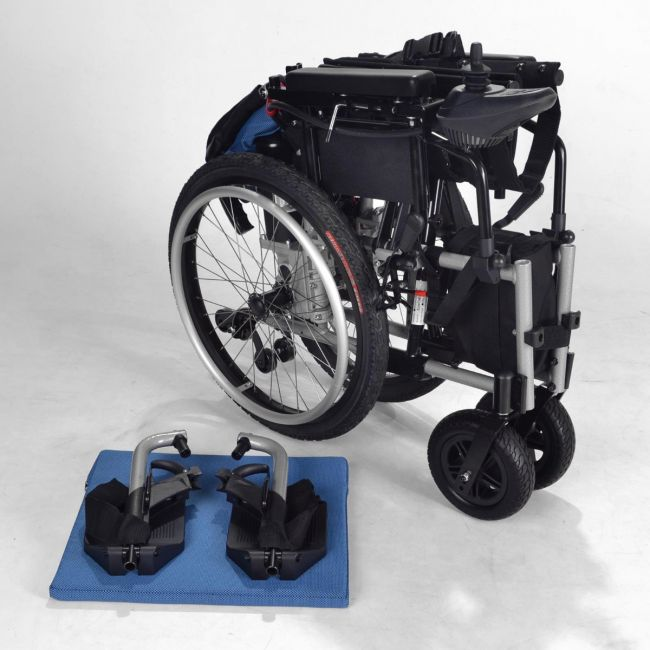Electric Wheelchair/Powerchair - Folded