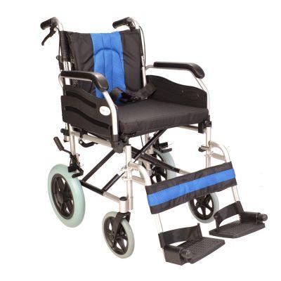 Deluxe attendant  narrow wheelchair ECTR02-16