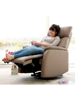 Positano Electric Swivel Recliner Chair