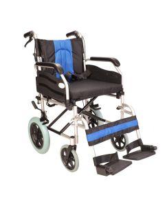 Deluxe Folding Lightweight Narrow Wheelchair ECTR02-16
