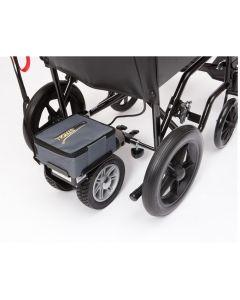 Dual wheel powerstroll wheelchair power pack