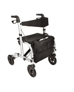 Hybrid 2 in 1 Rollator Wheelchair