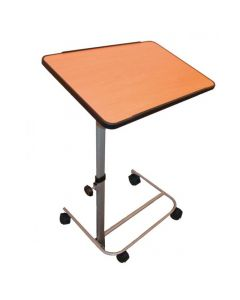 Single tilt top over bed table
