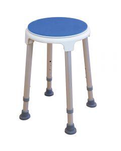 Rotating shower stool / bath seat