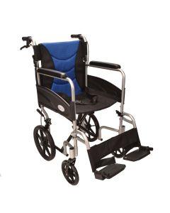 Ultra Lightweight aluminium folding transit wheelchair ECTR07