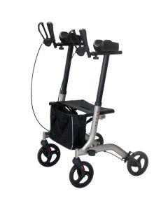 Forearm walker rollator