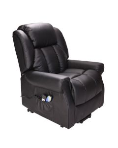 Hainworth Dual Motor Rise and Recliner Chair with Heat and Massage