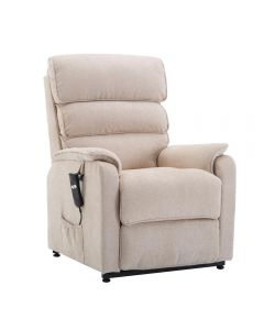 Henley Single Motor Riser Recliner Chair with heat and massage