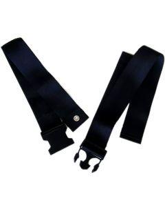 Wheelchair lap belt / seatbelt