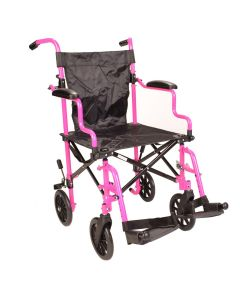 Pink Wheelchair in a Bag