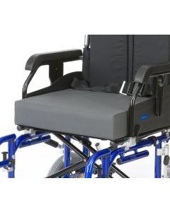 """4"""" Memory Foam Wheelchair Cushion - PU Cover"""