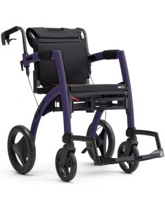 Topro Rollz Motion 2 in 1 Rollator and Wheelchair