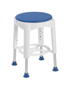 Deluxe swivel shower stool / bath seat