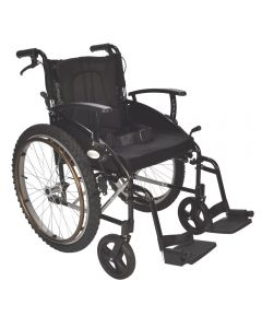 EC Voyager All Terrain outdoor wheelchair with pneumatic tyres