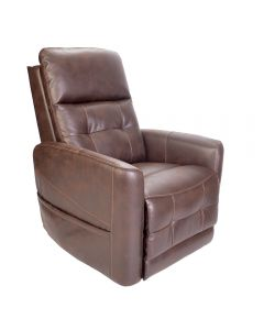 Westminster Leather Rise Recliner Chair powered headrest and lumbar