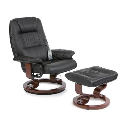 Restwell Napoli Swivel Recliner Chair with 10 Point Massage