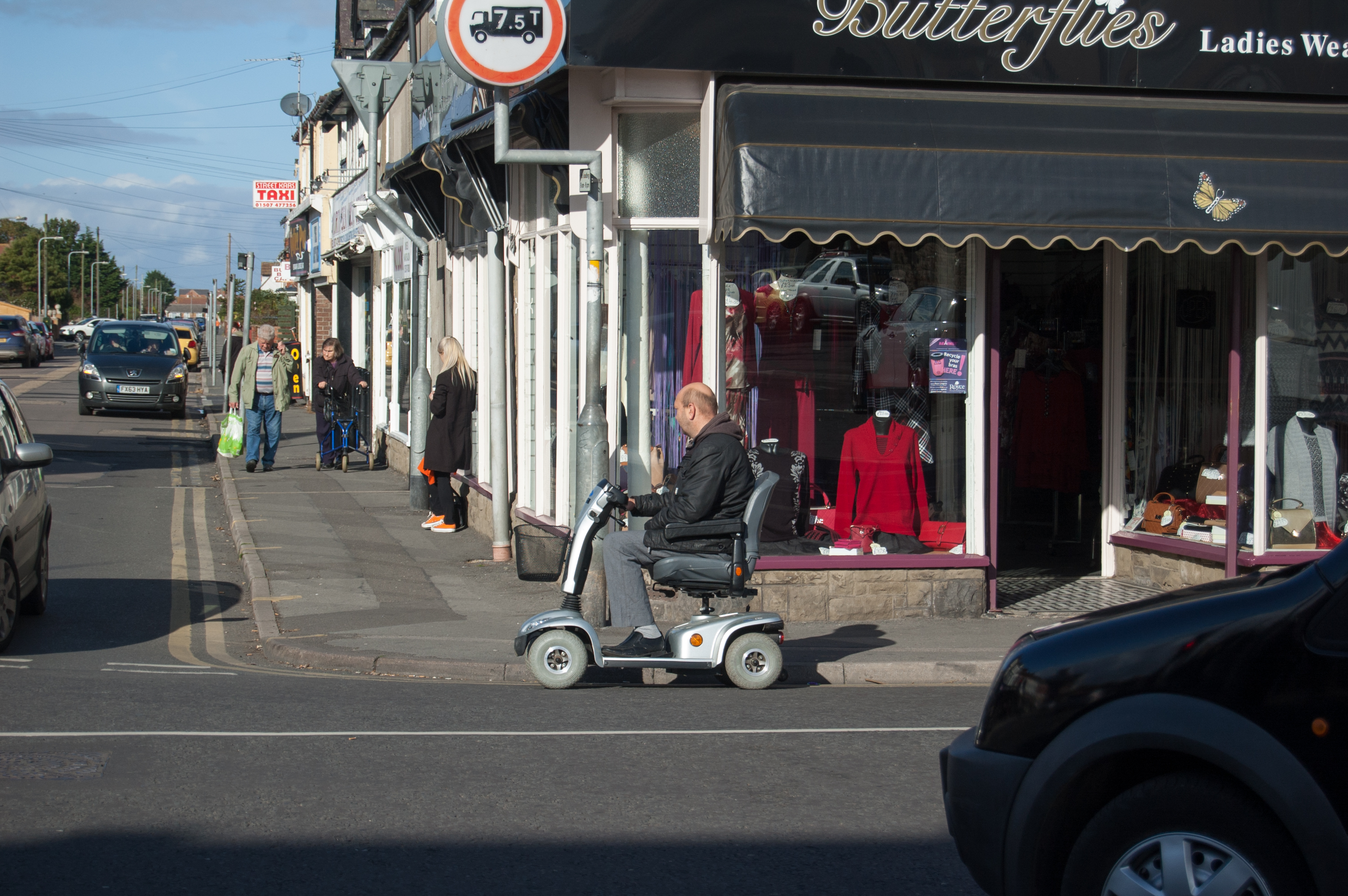 The Mobility Scooter Highway Code