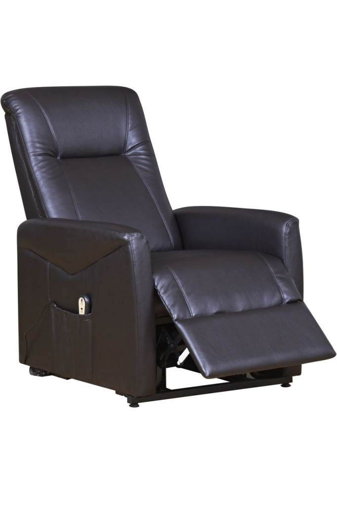 Our NEW faux leather rise and recliner chair £239.99!